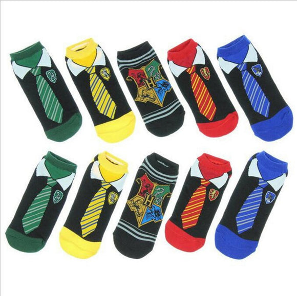 Movie Harry Potter Hogwarts School Cosplay Plush Sock Harry Potter Magic Socks Toy