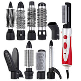 NIKAI NK - 9822 - 10B Hair Styling Dryer Curler 10-in-1 Rotating Hot Brush - Ace198