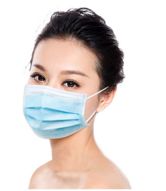 1pc Face Masks Disposable 3 Layers Dustproof Mask Facial Protective Cover Masks Set Anti-Dust Surgical Medical Salon Earloop - Ace198