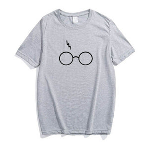 Harry Potter Lightning Glasses T-shirt Plus Size Shirt Tee - Ace198