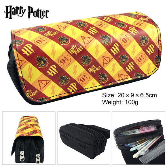 Harry Potter Hogwarts School of Magic Badge Pen Bag Kids Gift Toys For Children