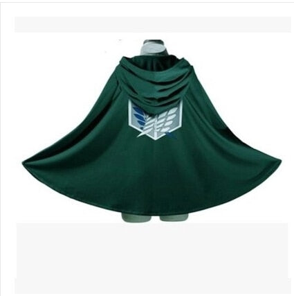 Anime no Kyojin Cloak Cape Clothes Cosplay Costume Fantasia Attack on Titan Plus