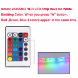 RGB Light For Tv Backlight Lamp for 1m 2m For Cupboard Wardrobe Cabinet LED Diode TV Background Lighting - Ace198