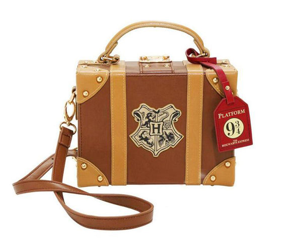 Harry Potter Hogwarts Small Suitcase Shoulder Bag for Women