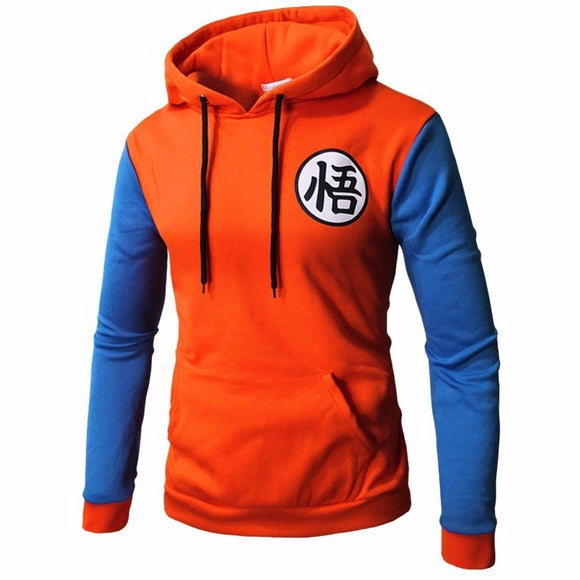 Anime Dragon Ball Hoodie Cosplay 3d Super Saiyan Dragonball Z Dbz Son Goku Pocket Hooded Sweatshirts Hoodies