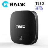 VONTAR T95D 1G 8G Android TV Box Rockchip RK3229 Quad Core Android 6.0 2G 16G 2.4GHz WiFi HD Smart TV Media Player - Ace198