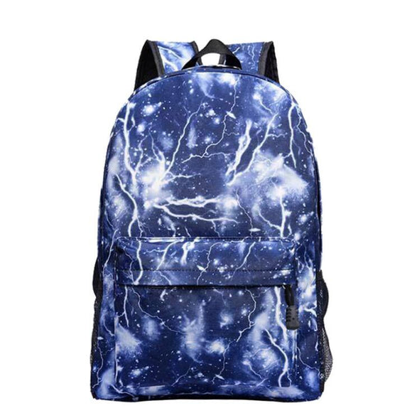 School Bag noctilucous Luminous backpack student bag Notebook backpack Daily backpack Glow in the Dark