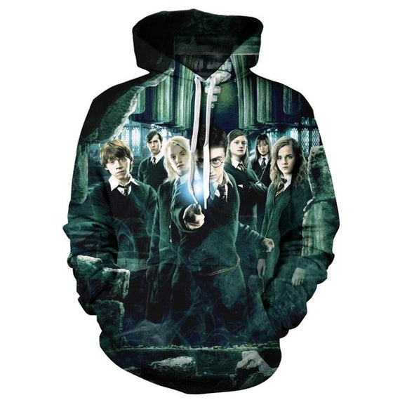 Autumn Harry Potter 3d Print Hoodie Sweatshirt