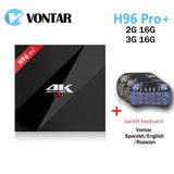 VONTAR 2G 16G 3G 16G H96 Pro+ Amlogic S912 Octa Core Android 7.1 Nougat TV Box 2.4G/5.8G WiFi H.265 4K Media Player H96 Pro Plus - Ace198