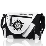 Harry Potter Supernatural Deadpool Assassin's Creed Shoulder Bag Unisex Waterproof Canvas - Ace198