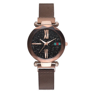 Luna Watch Magnet Watch Milan Starry Ms Watch Shaking Sound Explosion Models Spot Wholesale - Ace198