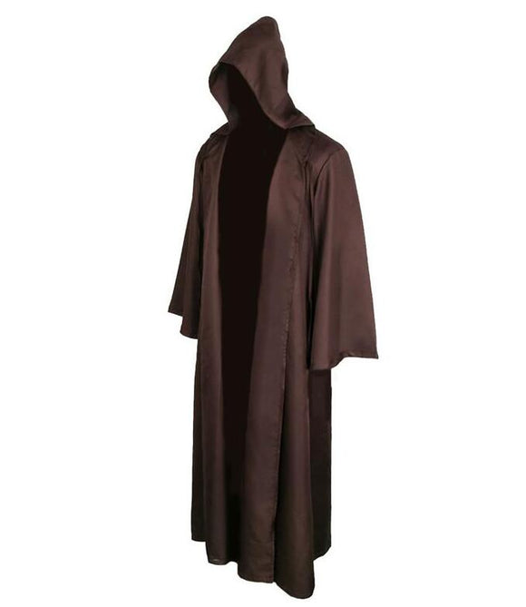 Star Wars Jedi/Sith Knight Cloak Cosplay  Hooded Robe Cloak Cape