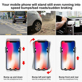 Baseus Car Holder Automatic Clamping Sucker Mount Holder Stand Car Phone Bracket For iPhone X 8 8 Plus For Samsung S8 Xiaomi LG - Ace198