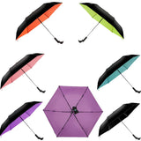 Wireless Bluetooth Selfie Tri-Folding Umbrella - Ultra-light Anti-UV Vinyl Folding Small Black Umbrella - Ultra-light Sunscreen