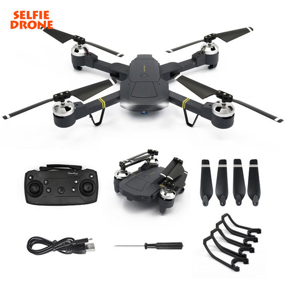 Eachine E58 WIFI FPV With Wide Angle HD Camera High Hold Mode Foldable Arm RC Quadcopter Drone GD88 drone - Ace198