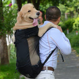 Adjustable Big Dog Travel Bag Pet Dog Carrier Bag for Medium Large Dogs Golden Retriever Pug French Bulldog Backpack Product