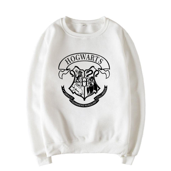 Women fleece Hoodies Harry Potter printed Sweatshirt