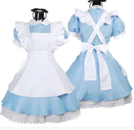 Costume Lolita Dress Maid Cosplay Fantasia Carnival Halloween Costumes
