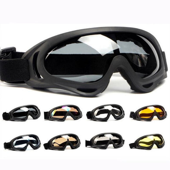 1pc Skiing Eyewear Ski Glass Goggles - Ace198