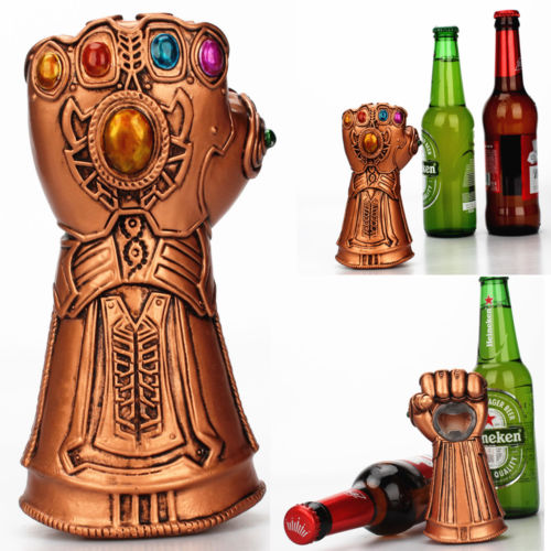 Infinity Thanos Gauntlet Glove Beer Bottle Opener Soda Glass Caps Remover Kit - Ace198