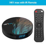 Android 9.0 HK1 MAX Mini Smart TV Box 2.4G/5G Wifi RK3328 Quad-Core BT 4.0 Set Top Box Media Player 4G+32G/64G PK TX6 X96 HK1MAX - Ace198