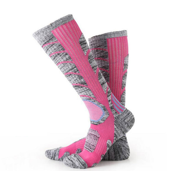 Winter Warm Men Women Thermal Ski Socks Thick Cotton Sports Snowboard Cycling Skiing Soccer Socks - Ace198