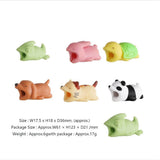 Cute Animal Shape Cable Protector Soft Silicone Anti Break Data Line Protective Cell Computers Mobile Phone Accessories - Ace198