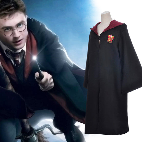 Harry Potter Cloak Gryffindor Ravenclaw Slytherin Hufflepuff Magic School Cosplay Costumes Cloaks Robe