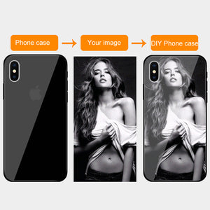 Customized Tempered Glass Cases For iPhone - Ace198