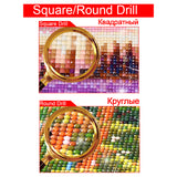 "Full Square/Round Diamond Embroidery Handmade""eye"" Knitting Set diamond painting House Living Room Decoration XPZ - Ace198"