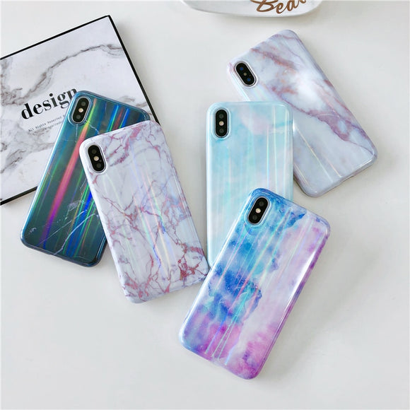 Granite marble phone cases for iPhone - Ace198