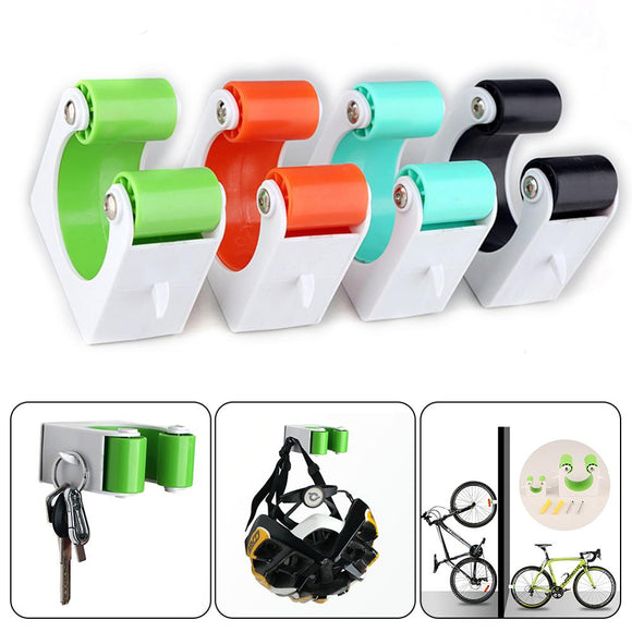 Bike Parking Rack Storage Holder Indoor Wall Vertical Bicycle Bracket Mountain Bike Road Bike Accessories