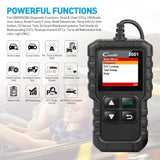 X431 Creader 3001 Full OBD2 OBDII Code Reader Scan tools OBD 2 CR3001 Car Diagnostic tool PK AD310 NL100 OM123 Scanner - Ace198