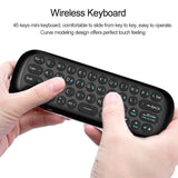 W1 2.4G Air Mouse Wireless Keyboard 6-Axis Motion Sense IR Learning Remote Control w/ USB Receiver for Smart TV Android TV BOX - Ace198