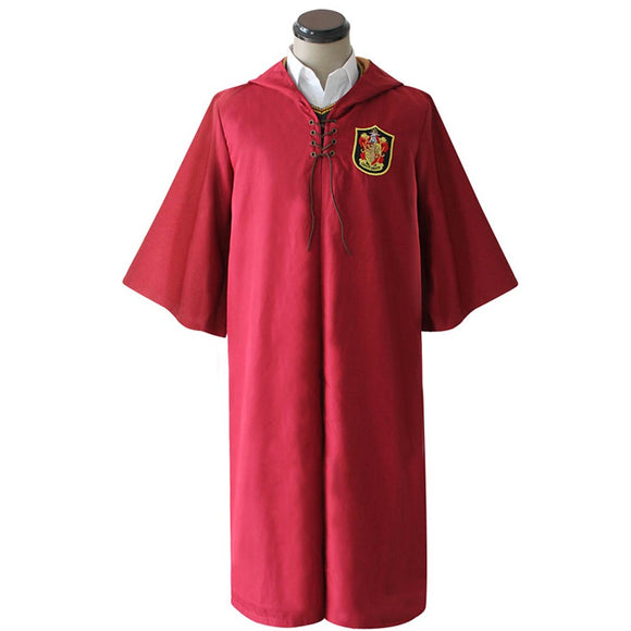 Inspired by Cosplay Harry James Potter / Magic Harry / Gryffindor Anime Cosplay Costumes Japanese Cosplay Tops / Bottoms Anime Long Sleeve Cloak For Unisex