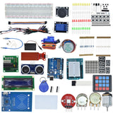 Starter Kit for Arduino Uno R3 - Uno R3 Breadboard and holder Step Motor / Servo /1602 LCD / jumper Wire/ UNO R3 - Ace198