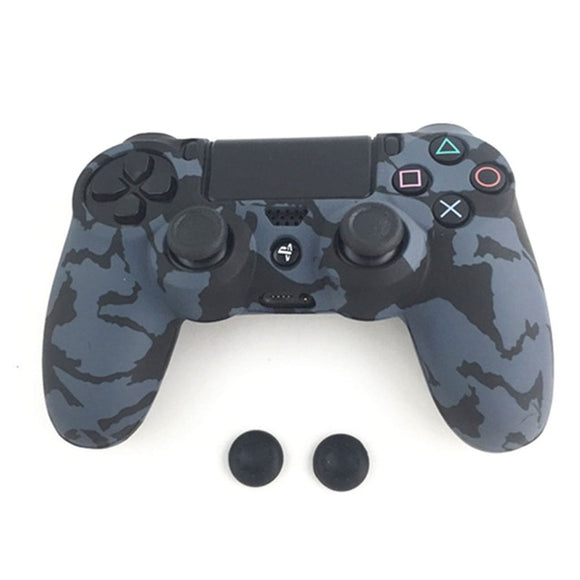 Silicone Guards Soft sleeve Skin Grip Cover Case Protector For Playstation 4 PS4 Controller Camouflage Camo AUG_22 Dropship - Ace198