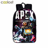 Apex Legends Backpack For Teenager Boys Girls Children School Bags Gibraltar Bloodhound Hero Figure Backpack Kids Book Bag Gift - Ace198