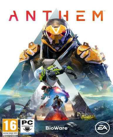 Anthem PC Digital download from Origin - Ace198