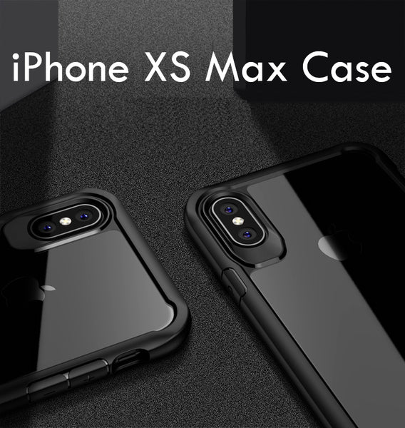 Luxury Anti Shock EAGLE Series Naked Shell Case with Soft Bumper Edges for Apple iPhone XS Max