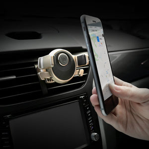 Baseus Mechanical Era 360 Degree Rotation Air Vent Universal Car Mount For Smartphones - BLACK