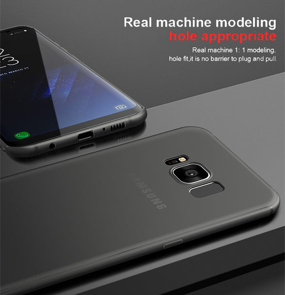 Premium Feather Series Ultra Thin 0.2mm Protection Case for Samsung Galaxy S8 Plus