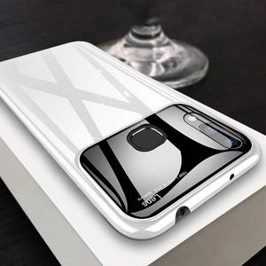 Luxury Mirror Camera Lens Anti Scratch Back Case Cover for Vivo V9