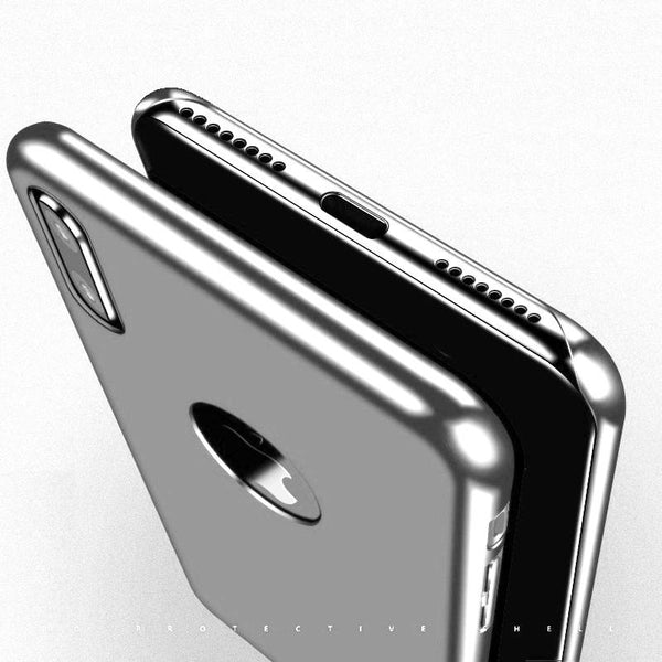 Premium Ultra Slim Fashion Case Hard Matte Back Case Cover for Apple iPhone X