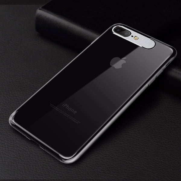 Premium Metal Camera Protection Ultra Slim Hard Matte Back Case Cover for Apple iPhone 7 Plus