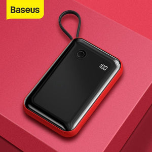 Baseus® 15Watt QC 3.0 Certified PD 10000mAh Fast PowerBank with Display