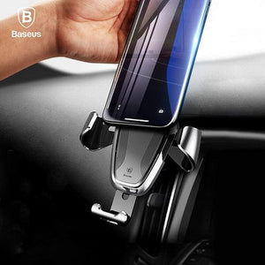 Baseus Automated Gravity Car Mount Phone Stand Car Air Vent Phone Holder for iPhone, Samsung, OnePlus, Honor, Xiaomi, Oppo, Vivo, Nokia, etc.