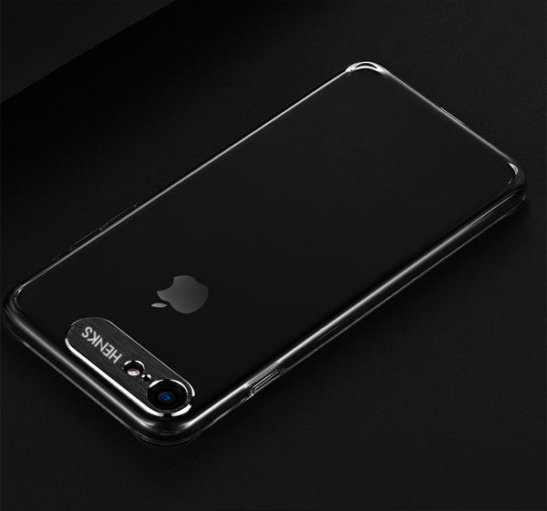 Premium Metal Camera Protection Ultra Slim Hard Matte Back Case Cover for Apple iPhone 7