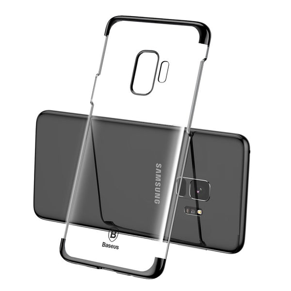 Premium High-End Electroplated Anti-Scratch Shockproof Back Case Cover for Samsung Galaxy S9