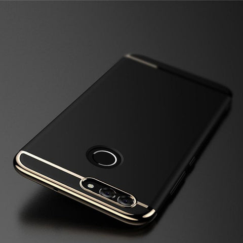 Luxury Ultra Slim 3in1 Gold Electroplating Hard Back Case Cover for OnePlus 5T